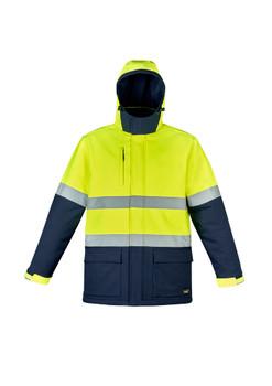 Unisex Hi Vis Antarctic Softshell Taped Jacket ZJ553