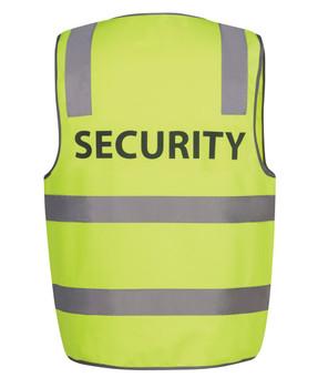 HI VIS D+N SAFETY VEST SECURITY  6DNS5