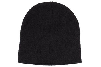 Rolled Down Acrylic Beanie - Toque HW 4244
