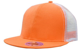 Premium American Twill with Mesh Back & Snap Back Pro Styling HW 4138