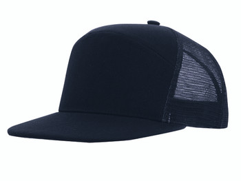 Premium American Twill A Frame Cap with Mesh Back HW 4154