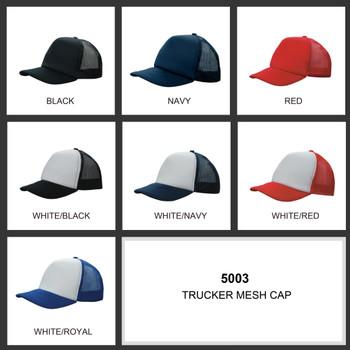 Trucker Mesh Cap HW 5003