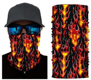 Simba Bandana face mask Neck Gaiter Fire S106