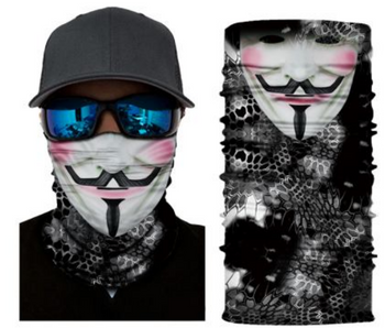 Simba Bandana face mask Neck Gaiter Cyber Spy S404