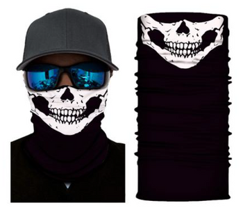 Simba Bandana face mask Neck Gaiter Smiley Skull S104