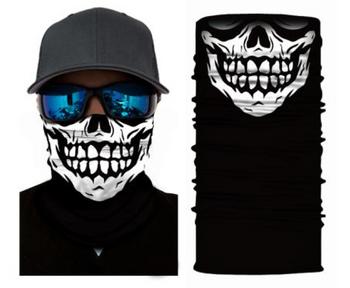 Simba Bandana face mask Neck Gaiter Giggle Skull S119