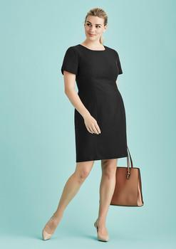 Womens Short Sleeve Dress 30112