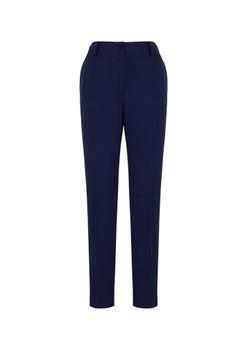 Womens Bandless Elastic Waist Pant 10722