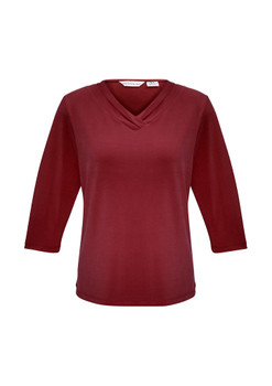 LADIES LANA 3/4 SLEEVE TOP  K819LT