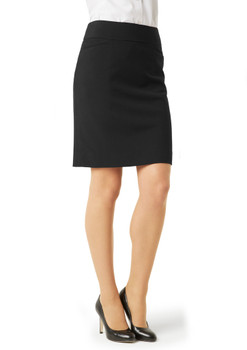 LADIES CLASSIC KNEE LENGTH SKIRT  BS128LS