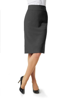 LADIES CLASSIC BELOW KNEE SKIRT  BS29323