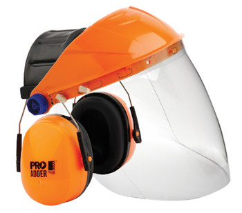 Pro Choice Adder Assembled Clear Visor - BGVCEADD