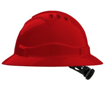 PRO CHOICE V6 VENTED FULL BRIM HARD HAT - HHV6FB
