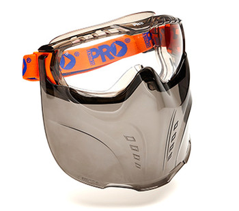 Vadar Goggle Visor Combination - Clear (5000)