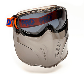 Vadar Goggle Visor Combination - Smoke (5002)