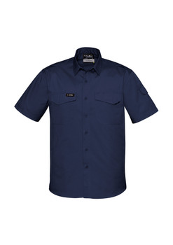 ZW405 Mens Vented Rugged Cooling Mens S/S Shirt