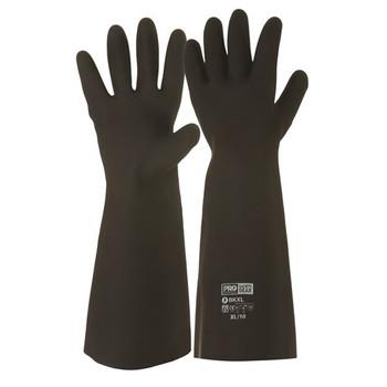 ProChoice® Black Knight® 46cm Rubber Gloves  BK pk12