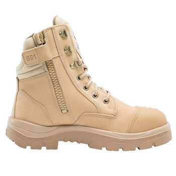 312661 Southern Cross Zip boots sand