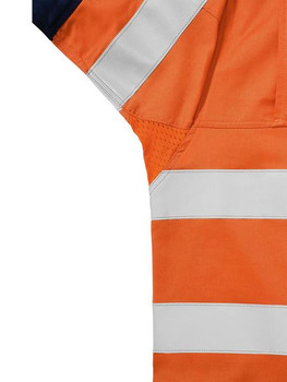 3M TAPED 2 TONE HI VIS MENS INDUSTRIAL COOL VENT SHIRT  BS6448T
