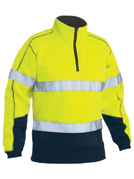 TAPED HI VIS FLEECE PULLOVER BK6989T