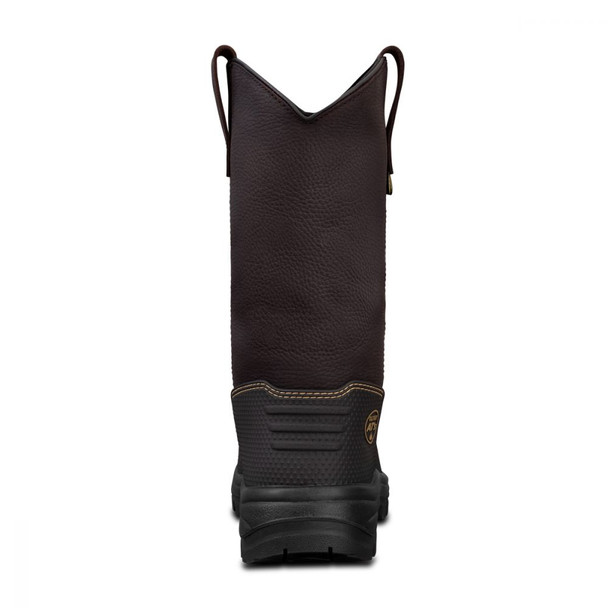 65-493 240MM BROWN PULL ON RIGGERS BOOT - 100% WATERPROOF