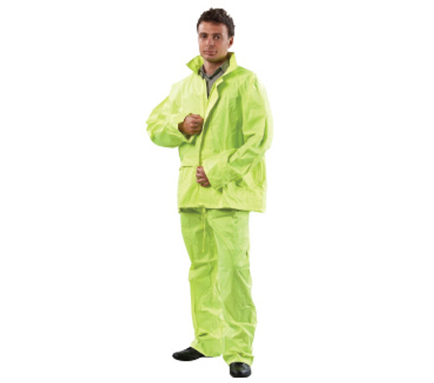 High Vis Rain Suit - Jacket & Pant Set - RSHVY