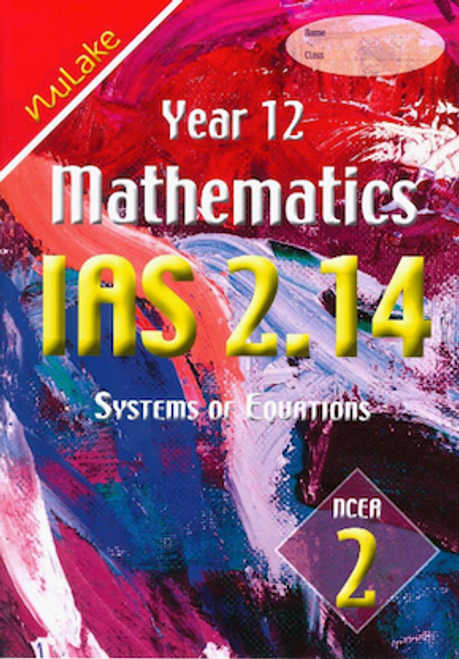 Nulake IAS 2.14 Systems of Equations
