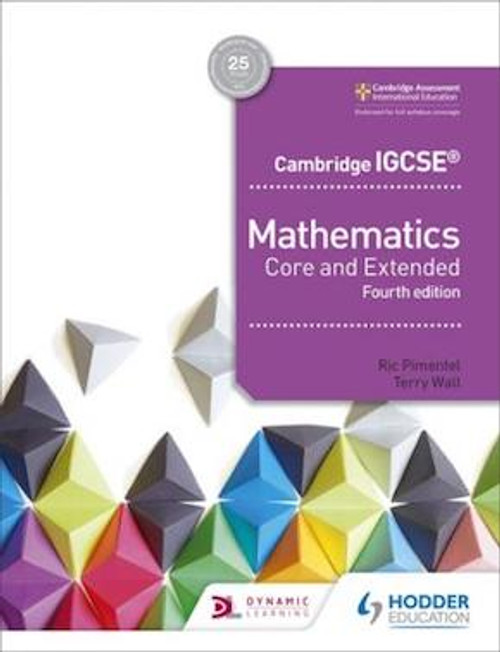 Cambridge IGCSE Mathematics Core and Extended (4e)