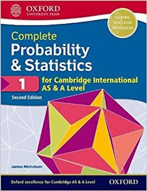 Complete Probability & Statistics 1 for Cambridge International AS and A  Level