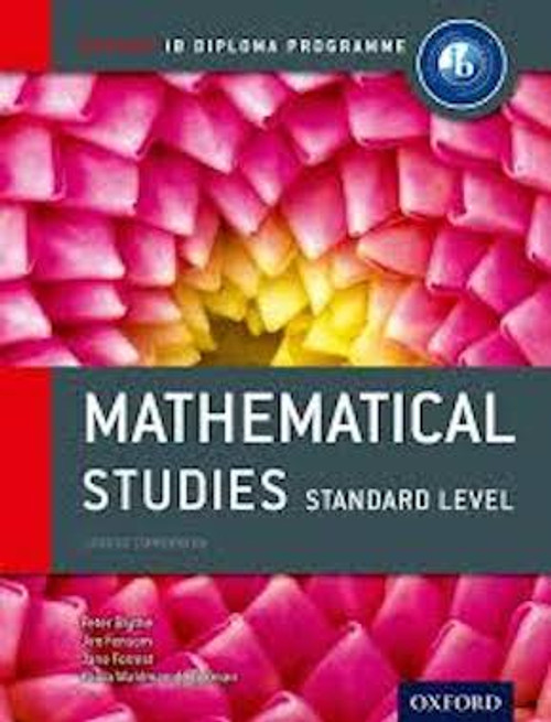IB Course Book: Mathematical Studies Standard Level (2e)