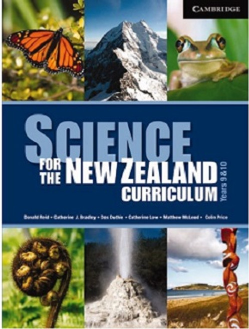 Science for the New Zealand Curriculum: Year 9 and 10