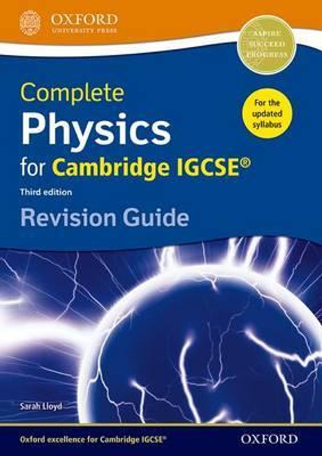 Complete Physics for Cambridge IGCSE: Revision Guide (3e)