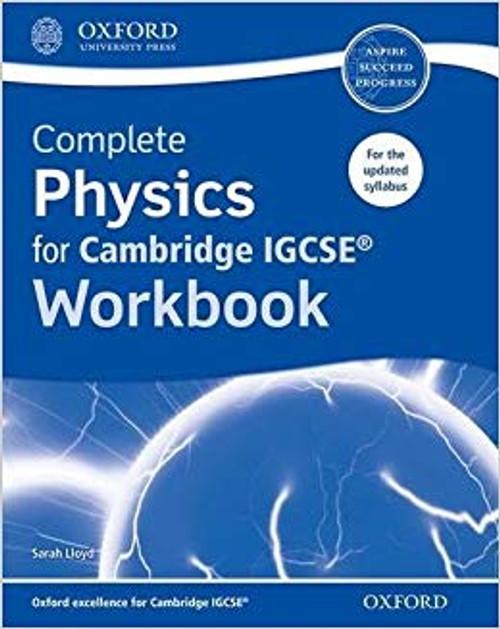 Complete Physics for Cambridge IGCSE Workbook