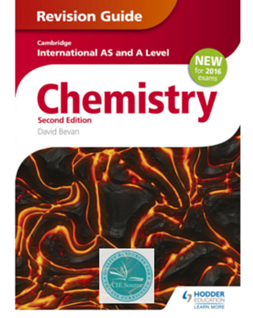 Cambridge International AS and A Level Chemistry Revision Guide (2e)