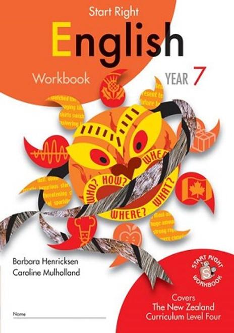 Year 7 ESA English Start Right Workbook