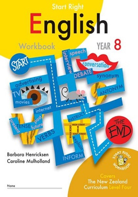 ESA English Start Right Workbook Year 8