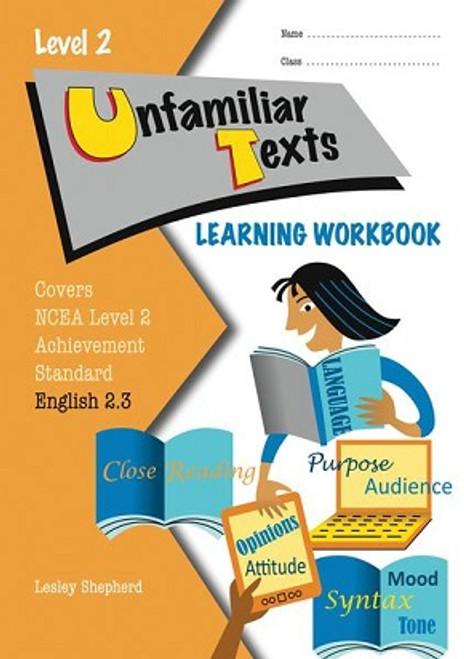 ESA Level 2 Unfamilar Texts 2.3 Learning Workbook
