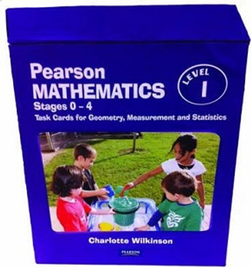 Pearson Mathematics 1: Independent Task Cards for Geometry, Measurement and Statistics