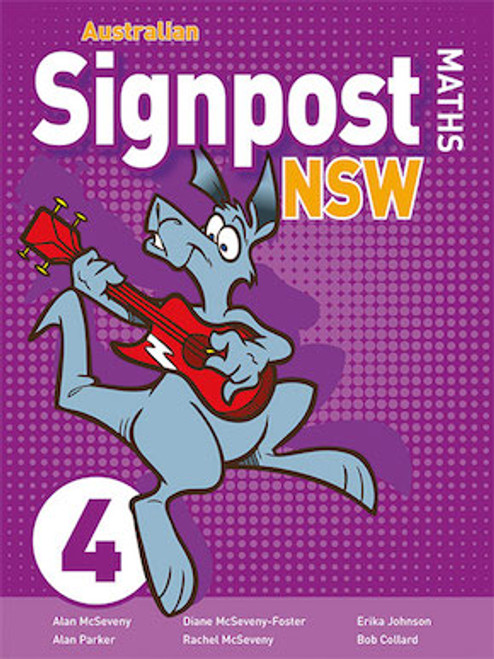Australian Signpost Maths 4 Student Activity Book (3e)
