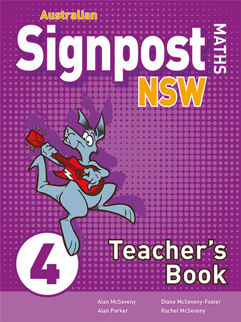 Australian Signpost Maths 4 Teacher's Book (3e)