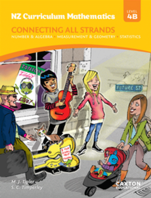NZCM Connecting All Strands 4b: Student Book