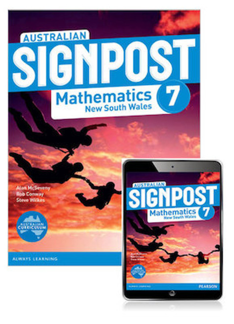 Australian Signpost Mathematics New South Wales 7 Student Book with eBook