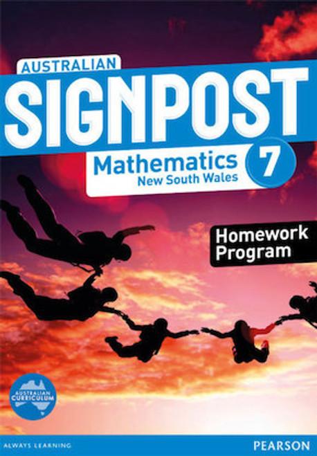Australian Signpost Maths NSW 7: Homework Program