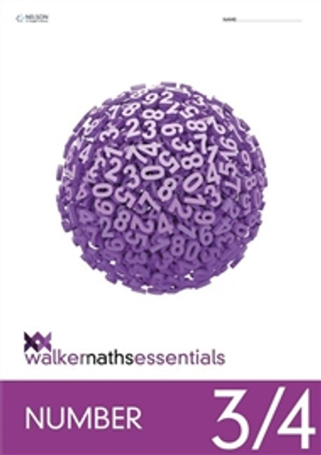 Walker Maths Essentials Number 3/4 Workbook