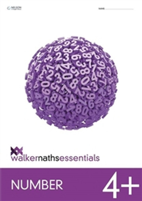 Walker Maths Essentials Number 4+ Workbook
