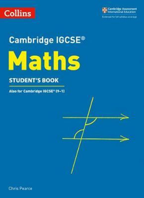 Cambridge IGCSE (TM) Maths Student's Book