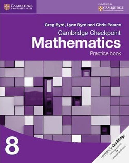 Cambridge Checkpoint Mathematics Practice Book 8