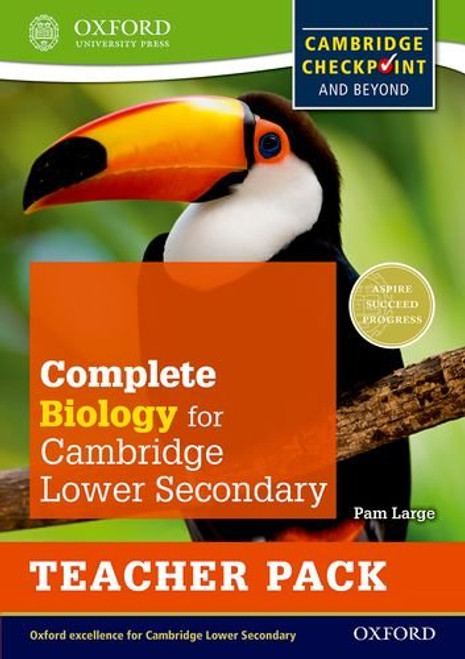 Complete Biology for Cambridge Lower Secondary Teacher Pack: For Cambridge Checkpoint and beyond