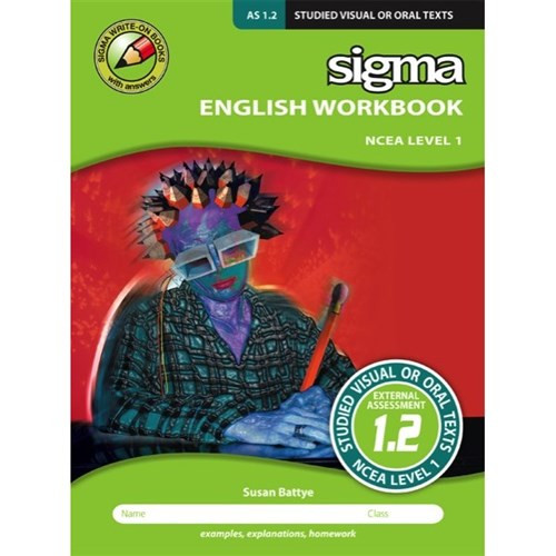 English Workbook NCEA Level 1: As 1.2 Studied Visual or Oral Texts