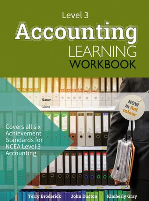 ESA NCEA Level 3 Accounting Learning Workbook